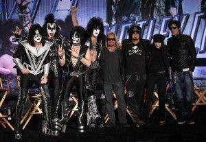 Kiss y Mötley Crüe