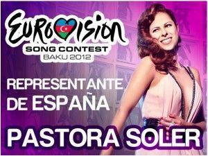Pastora Soler. Eurovision 2012