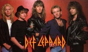 "Vídeo de música de DEF LEPPARD - ""Pour Some Sugar On Me"""