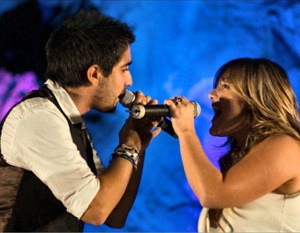 Amaia Montero y Alex Ubago cantan Los Abrazos Rotos