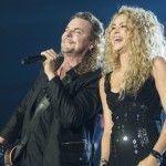 Shakira y Maná en Concierto en Barcelona
