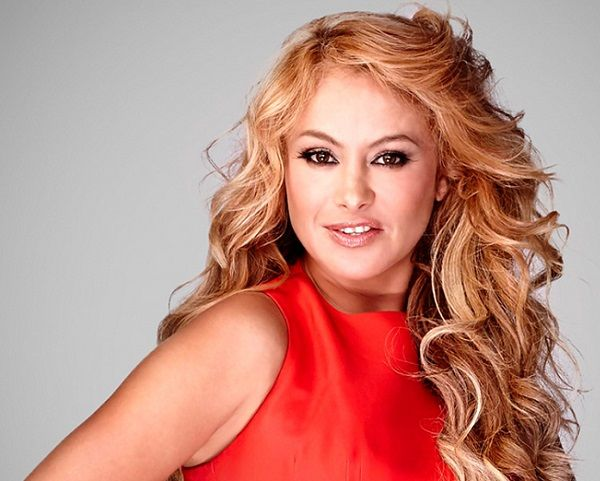 Intervención de Paulina Rubio en los Premios Platino