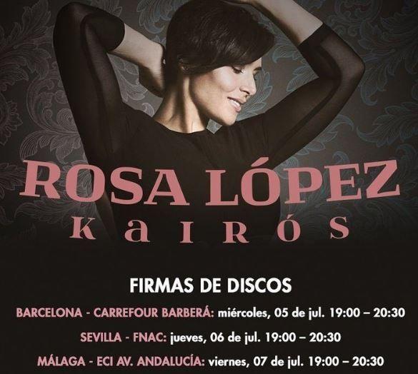 Rosa López presenta Por Fin Pienso en Mí