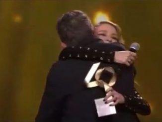 Alejandro Sanz y Silvia Abascal, Gran Momento en Los40 Music Awards